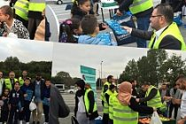 İsveç'te sığınmacı Suriyelilere yardım