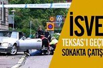 İsveç'te sokak ortasında çatışma!