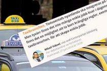 İsveç'te ticari taksiciliğe kökten çözüm!
