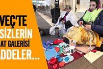 İsveç'teki evsizlerin el sanatları atölyesi