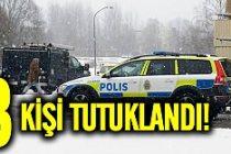 İsveç'teki mülteci kampı cinayeti 3 kişi tutuklandı