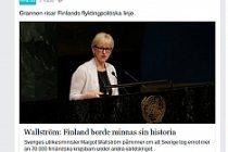 İsveç'ten Finlandiya'ya çok sert mülteci eleştirisi
