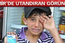 İzmir'de Suriyeli çocuğa esnaftan dayak