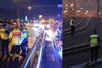 Kaza sonrası Malmö - Lund arası tren seferleri durdu