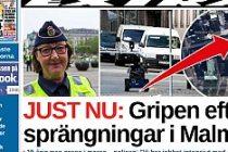 Malmö bombacısı yakalandı