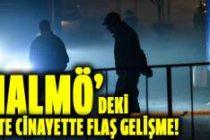 Malmö cinayetlerinde flaş gelişme