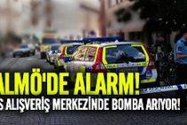 Malmö'de Alışveriş merkezinde bomba alarmı