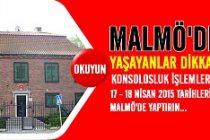 Malmö'de yaşayan vatandaşlarımıza Büyükelçilik'ten gezici hizmet
