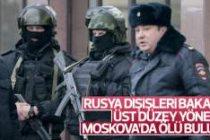Moskova'da Rus yetkili ölü bulundu