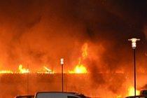 Norsborg yanıyor...VİDEO