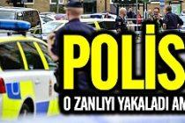 O saldırgan Malmö'de yakalandı