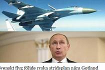 Rus savaş uçakları, İsveç'i tehdit etti
