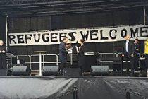 Semanur Taşkın,''Mülteciler'' için 15 bin kişiyi Stockholm'de topladı