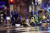 Stockholm'de taksi yola atlayan kadını biçti!