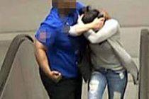 Stockholm'de metroda genç kıza hırsız dayağı