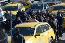 Stockholm'de Taksicilerden Fiyat Protestosu