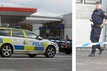 Stockholm'de yol ortasında silahlar konuştu