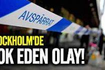 Stockholm merkezinde korkunç saldırı