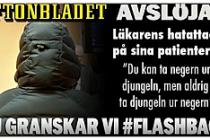 Stockholm'de Göçmen hastalara hakaret eden doktora baskın!...VİDEO