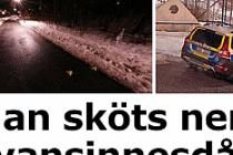 Stockholm'de otobüs şoförü vuruldu...VİDEO