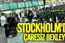 Tren istasyonlarında şok Stockholm'da raylar fırladı