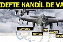 Türk jetlerinden Kuzey Irak'ta PKK'ya bombardıman!