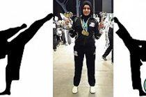 Türk kızı Büşra, İsveç Gençler Karate şampiyonu oldu