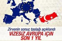 Türk vatandaşları, Avrupa ülkelerine bir sene sonra  vizesiz girecek