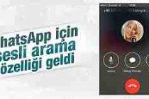 WhatsApp'a iPhone için sesli arama özelliği geldi