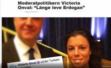Erdoğan'ı öven İsveçli kadın siyasetçi linç edildi