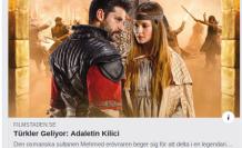 Türkiye'de ilk günde izleme rekoru kıran film yakında Stockholm'de... Türkler Geliyor: Adaletin Kılıcı