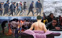 Avrupa'nın utanç tablosu! Yürek yakan görüntüler