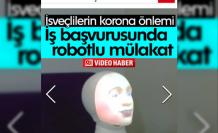İsveç'te Kovid 19'a önlem olarak iş başvurusunda robotlu mülakat devri