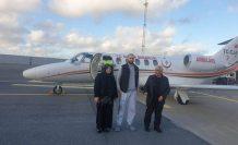 Kanser hastası Türk genci İsveç'ten ambulans uçakla Türkiye'ye nakledildi