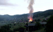 Norveç'te ahır yangını, 300 keçi telef oldu