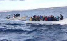 NOS: Yunanistan, eşyalarına el koyduğu göçmenleri denize geri itiyor