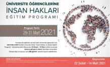 YTB'nin 'İnsan Hakları Online Eğitim Programı'na başvurular başladı