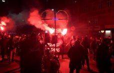 Danimarka'da Covid-19 kısıtlama protestolarının şiddeti arttı