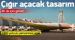 Dünya'nın en büyük uçağı olacak tam 1000 yolcu kapasiteli!