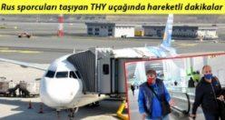 THY uçağında ilginç anlar; 20 yolcuya cezai işlem uygulandı