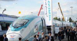 Türkiye'nin en hızlı treni Berlinden yola çıktı