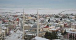 Beyaz Karlar altında ki KULU'ya yukardan bakmak istermisiniz? FOTO