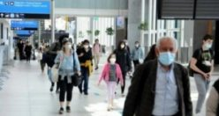 301 Türk yolcu tahliye uçağıyla İstanbul'a indi