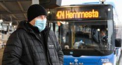 İsveç'te 7 Ocak'tan itibaren maske takmak güçlü şekilde tavsiye edildi