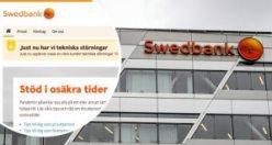 Swedbank'ta çöküş devam ediyor: Bankaya olan güven azalıyor