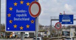 Almanya mutasyonları engellemek için sınırları kapattı