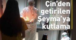 Virüs nedeniyle: Karantinada doğum günü kutlaması