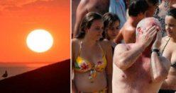 Avrupa'yı felç eden sıcaklıklar İsveç'te: 44 dereceye kadar çıktı
