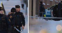 Tensta'da kanlı olay! Polis cinayeti araştırıyor