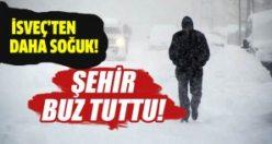 Türkiye'de soğuklar İsveç'i geçti
